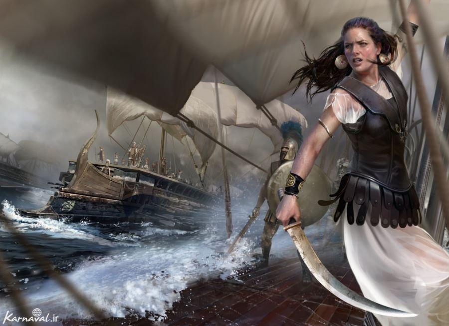 مخوف ترین دزدان دریایی زن