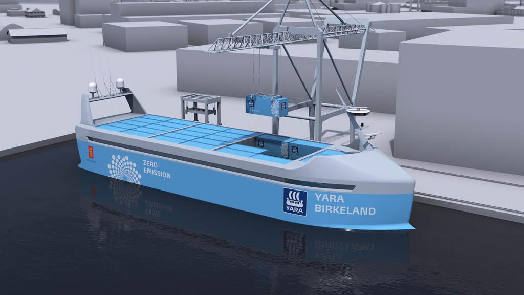 آشنایی با عملکرد اولین کشتی کانتینری خودران #بدون_خدمه جهان